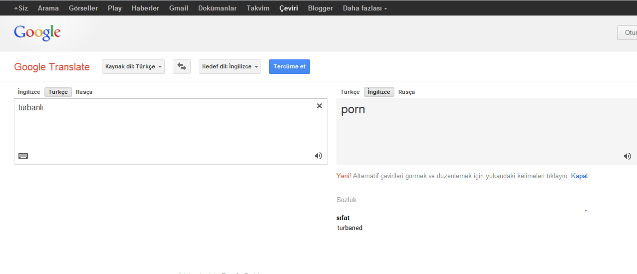Google translate english - 7