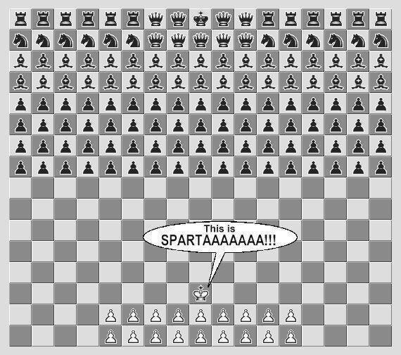how to make sparta more interesting