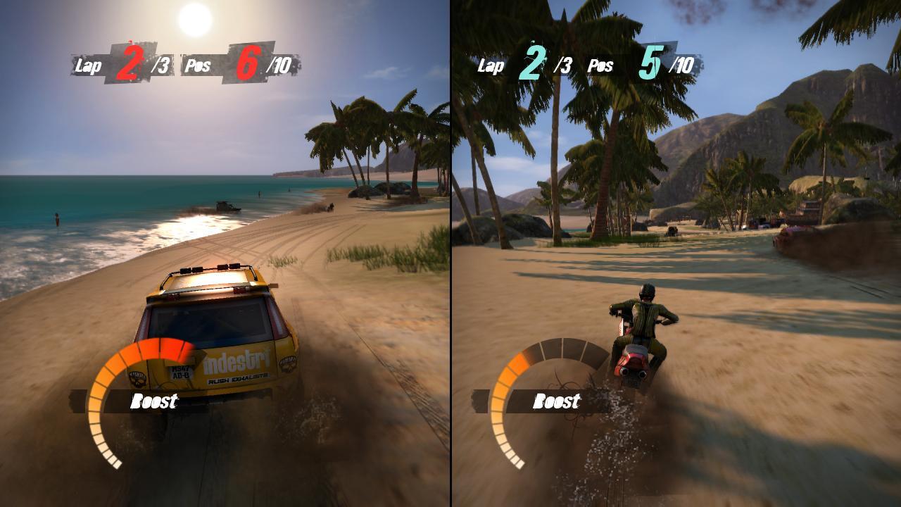 2 player split screen racing games xbox one