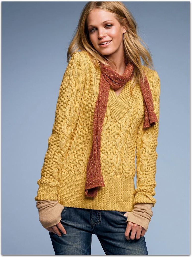 Вязание спицами свитеров жакетов 28