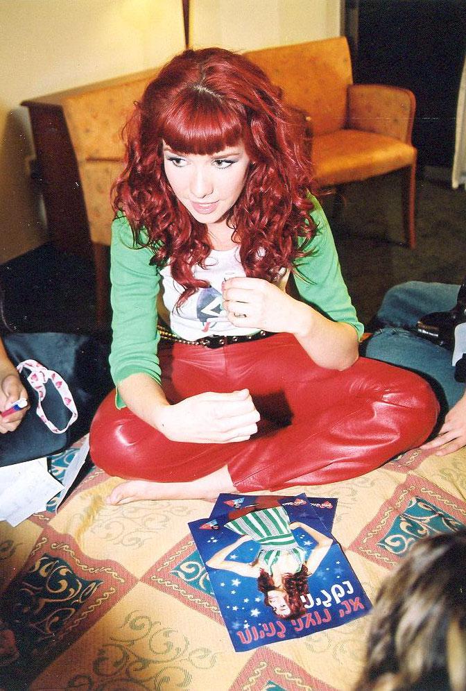 Наталия орейро с красными волосами фото
