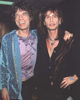Mick Jagger Ve Steven Tyler Uludağ S 246 Zl 252 K