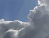 bulutta oluşan atatürk silüeti